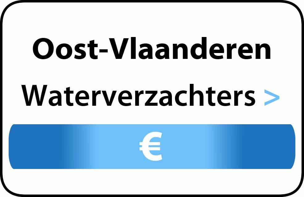 Waterverzachter Oost-Vlaanderen adoucisseur d'eau Flandre occidentale