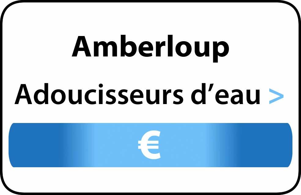 adoucisseur d'eau Amberloup