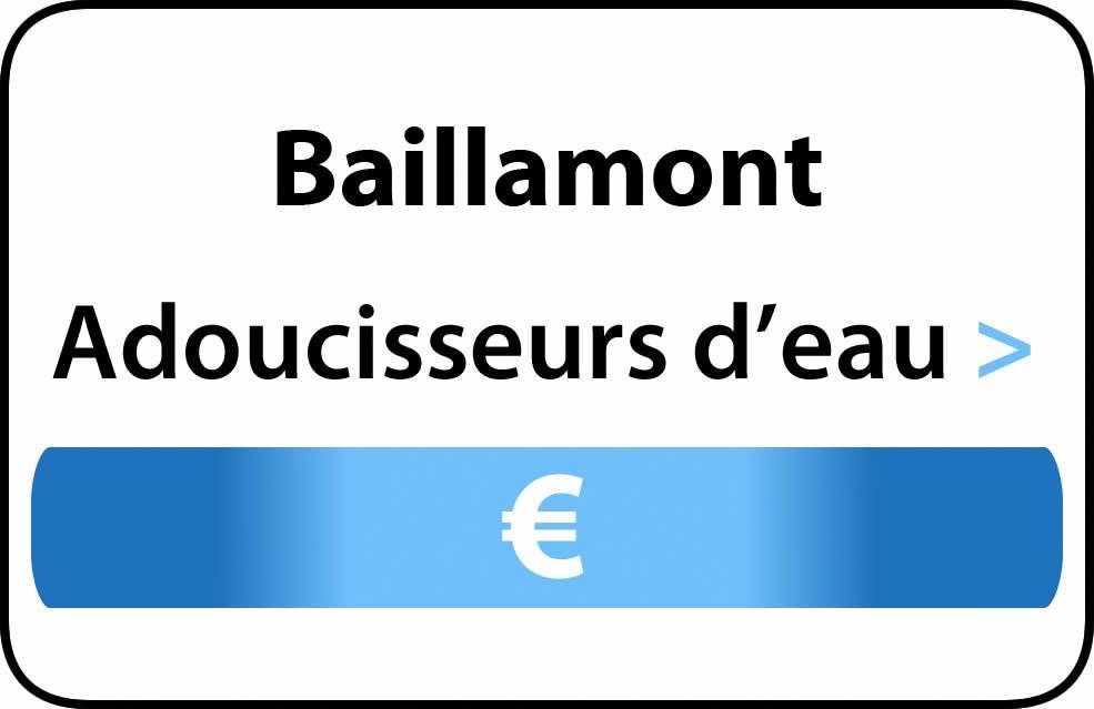 adoucisseur d'eau Baillamont