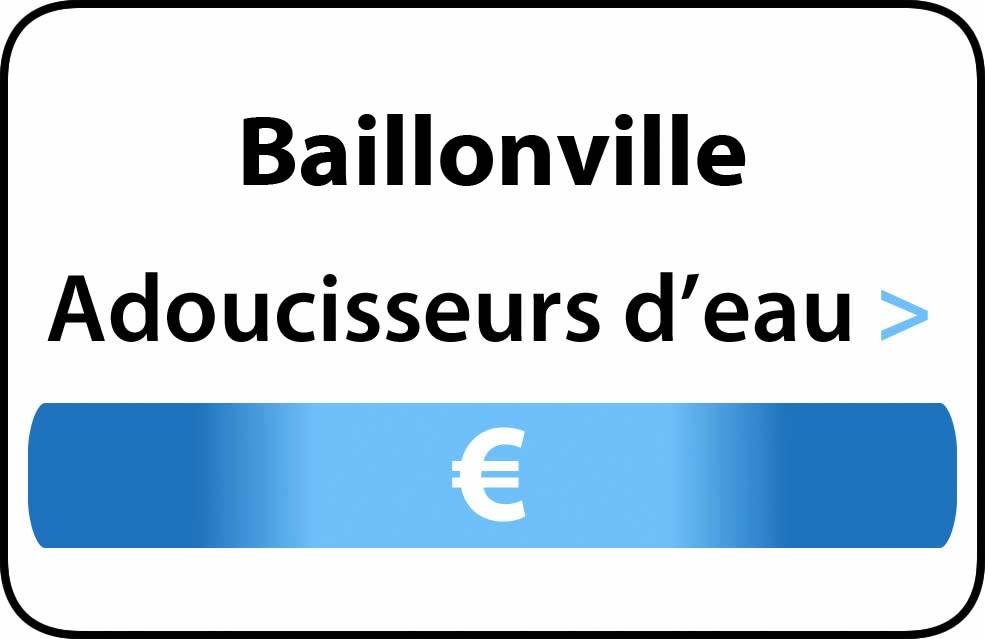 adoucisseur d'eau Baillonville
