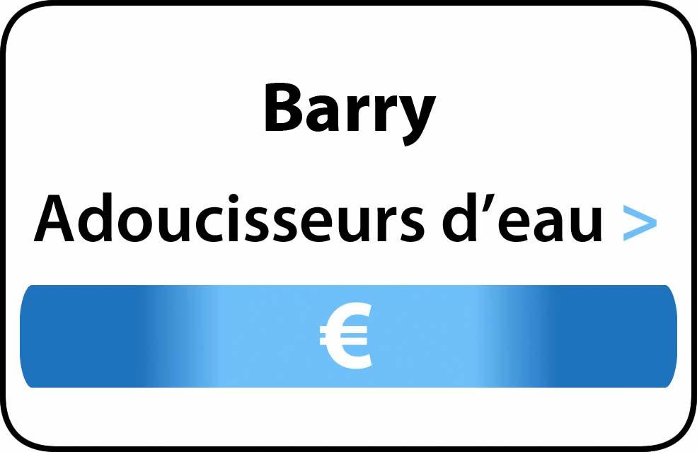 adoucisseur d'eau Barry
