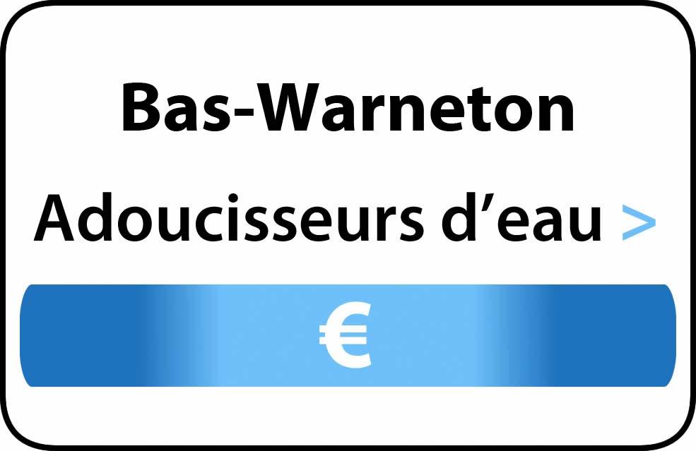 adoucisseur d'eau Bas-Warneton