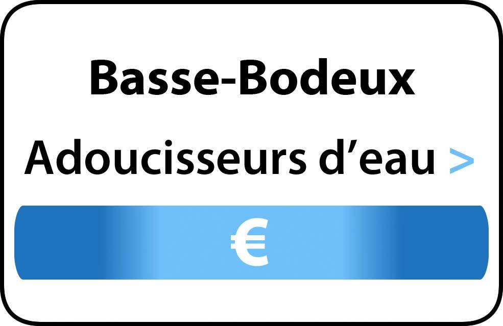 adoucisseur d'eau Basse-Bodeux