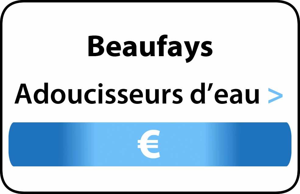 adoucisseur d'eau Beaufays