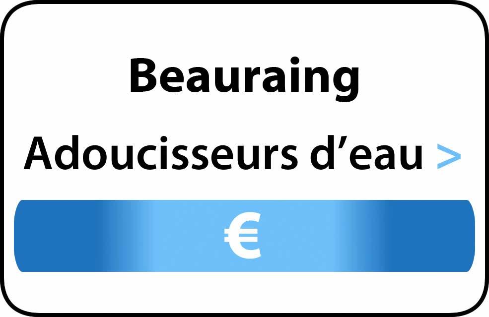 adoucisseur d'eau Beauraing
