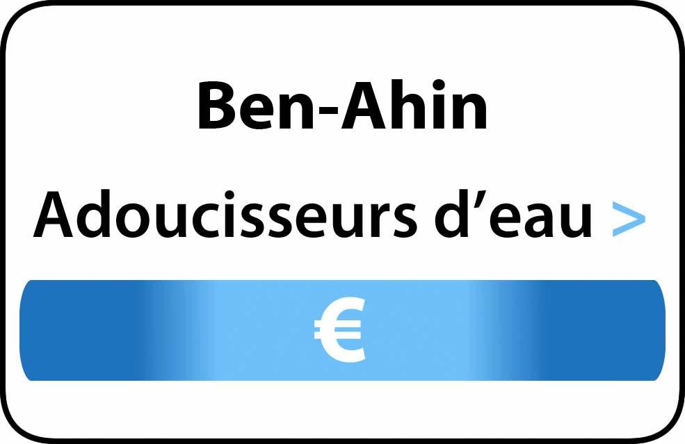 adoucisseur d'eau Ben-Ahin