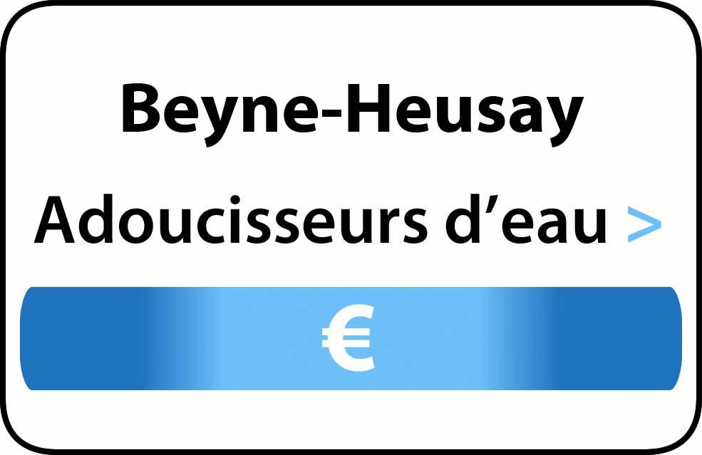 adoucisseur d'eau Beyne-Heusay