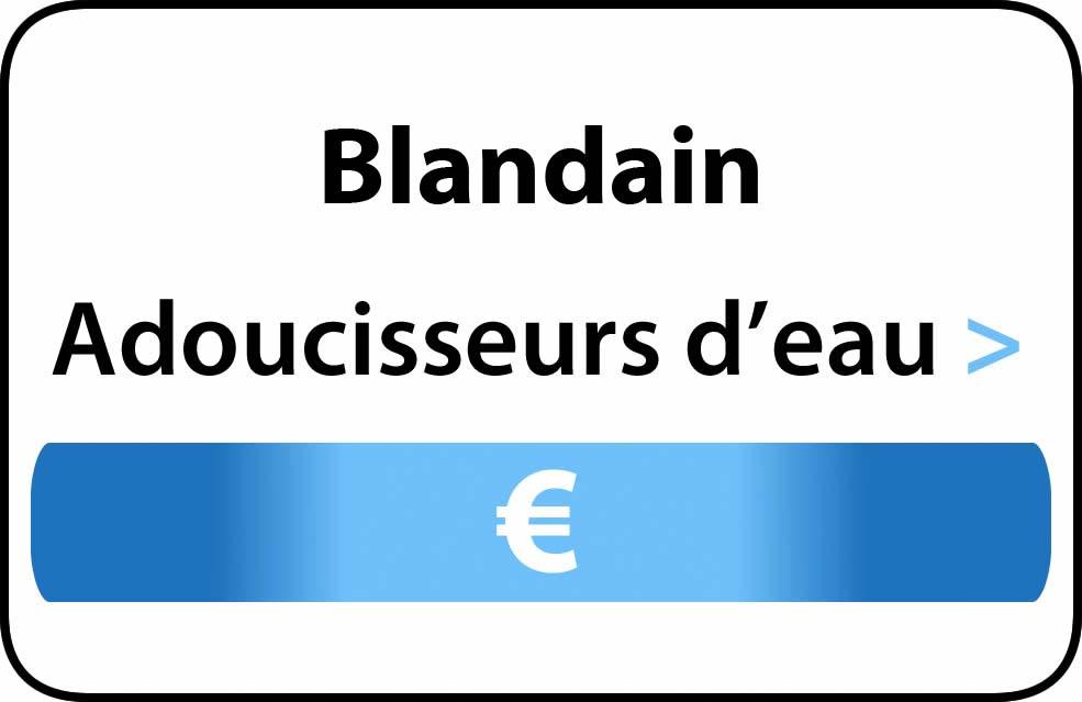 adoucisseur d'eau Blandain