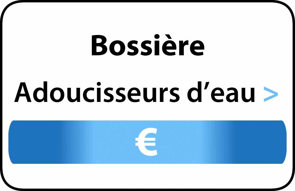 adoucisseur d'eau Bossière