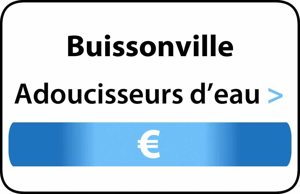 adoucisseur d'eau Buissonville