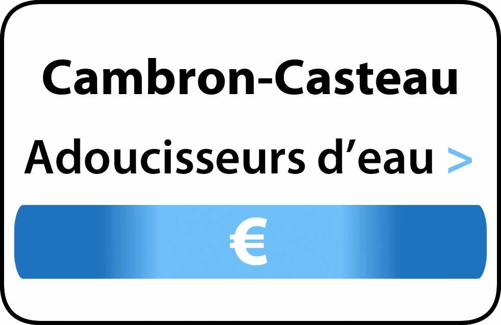 adoucisseur d'eau Cambron-Casteau