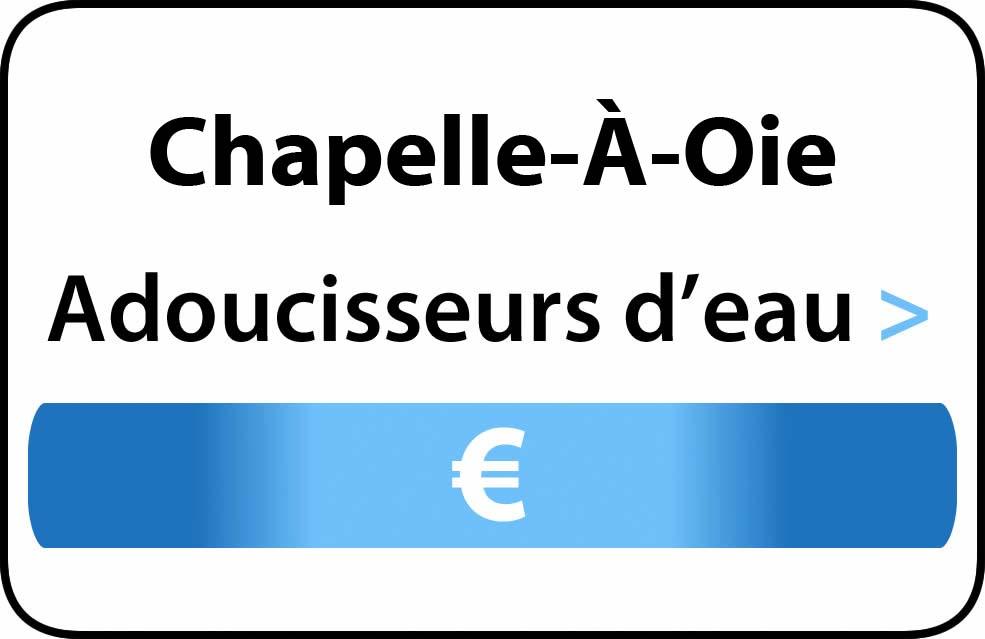 adoucisseur d'eau Chapelle-À-Oie