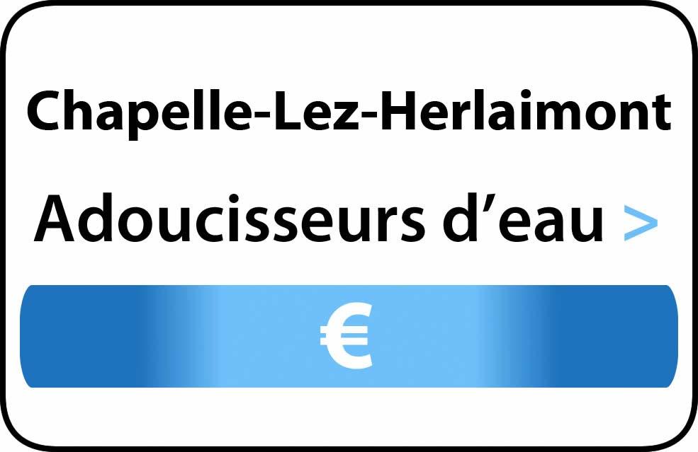 adoucisseur d'eau Chapelle-Lez-Herlaimont