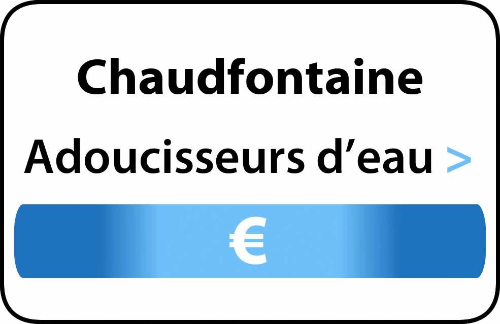 adoucisseur d'eau Chaudfontaine