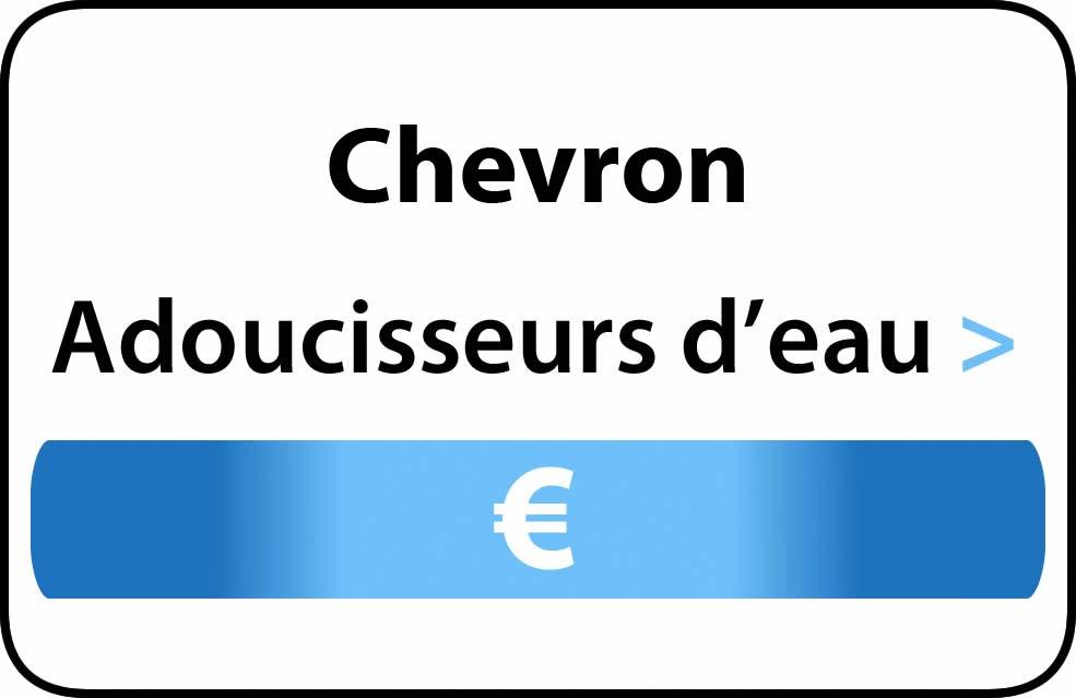 adoucisseur d'eau Chevron