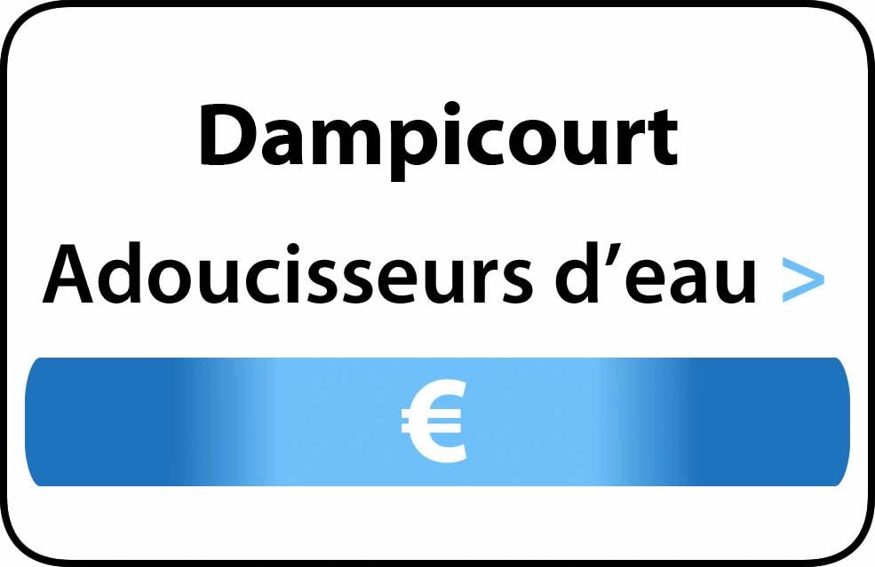 adoucisseur d'eau Dampicourt