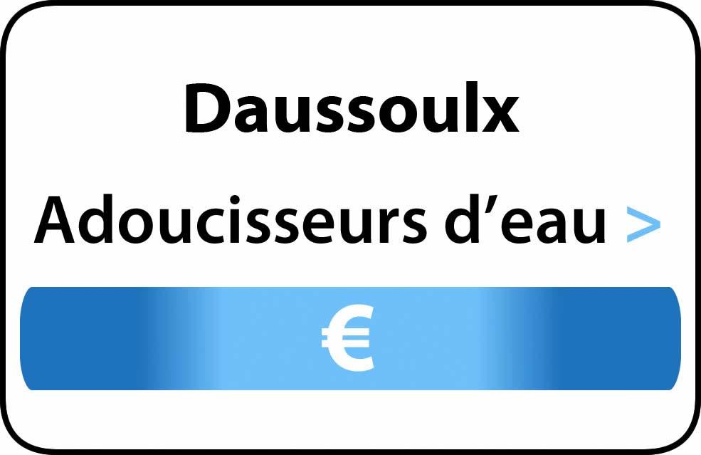 adoucisseur d'eau Daussoulx