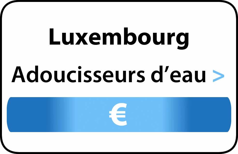 adoucisseur deau luxembourg