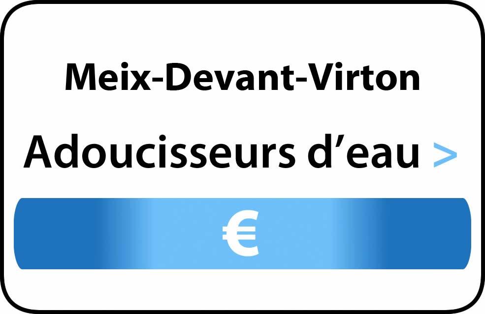 adoucisseur d'eau Meix-Devant-Virton