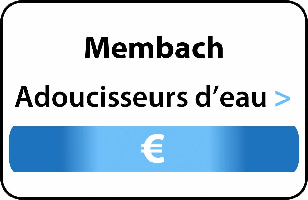 adoucisseur d'eau Membach