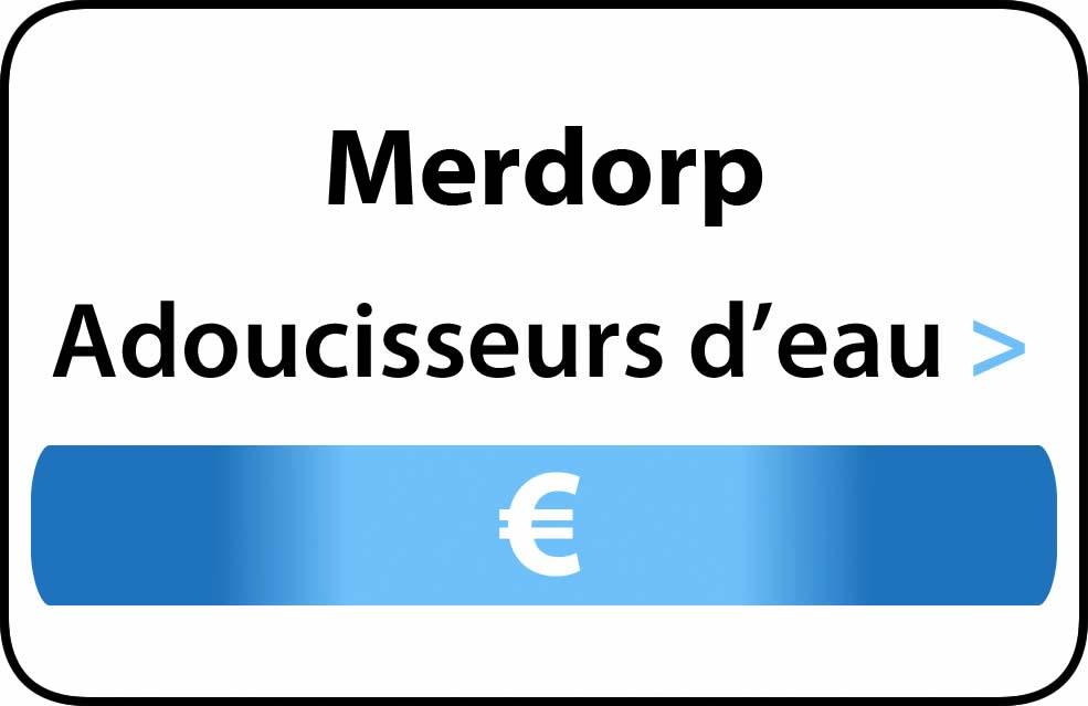 adoucisseur d'eau Merdorp