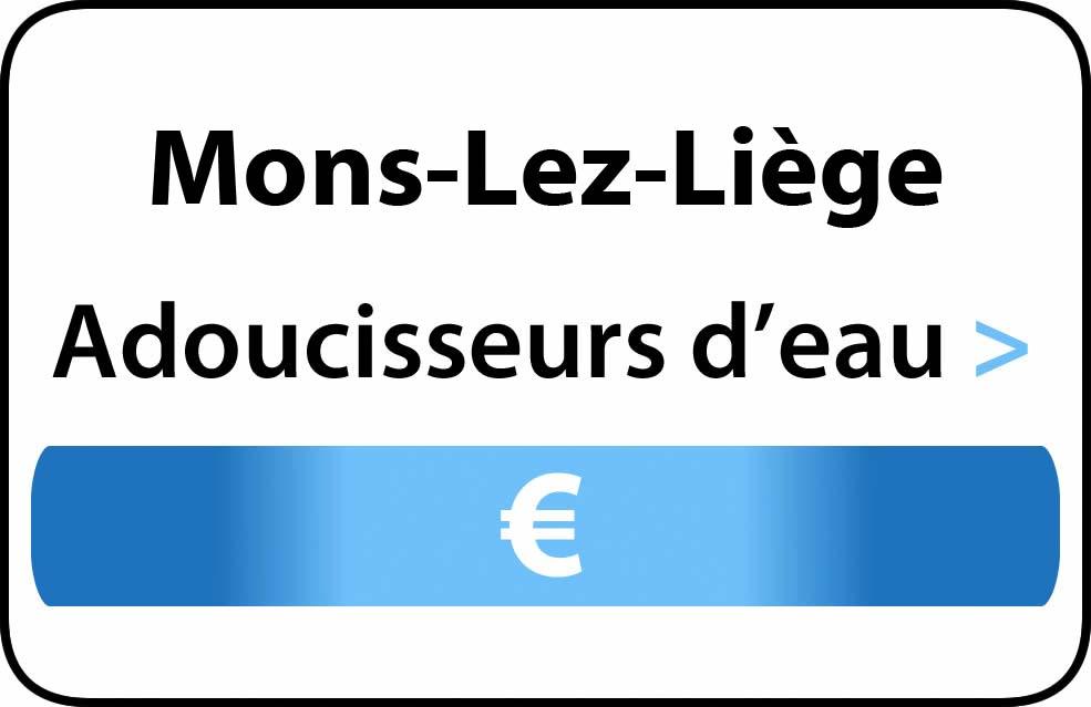 adoucisseur d'eau Mons-Lez-Liège