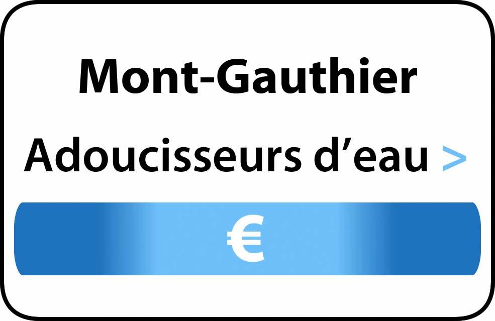 adoucisseur d'eau Mont-Gauthier