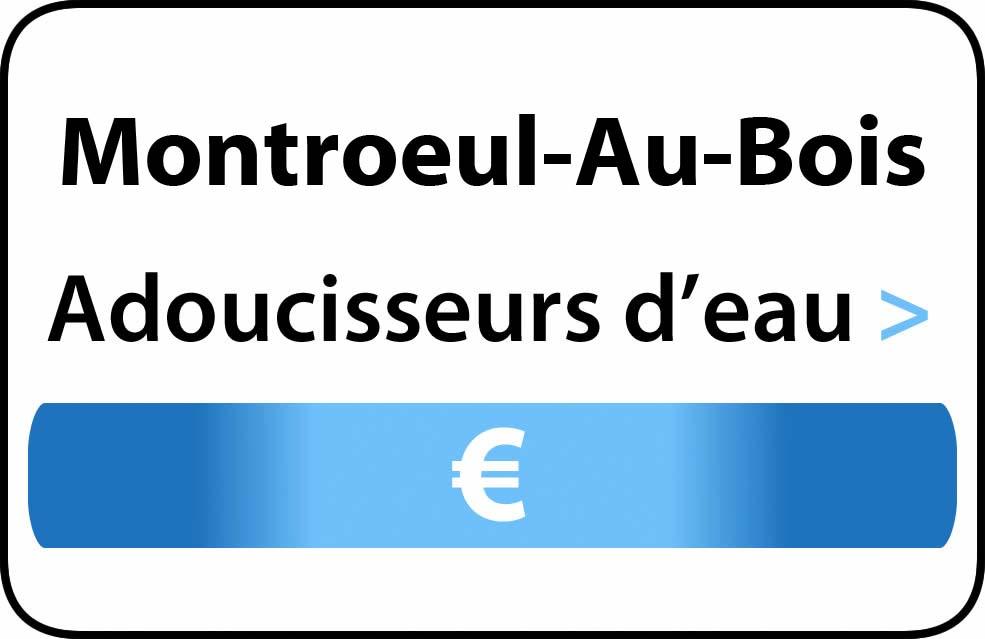 adoucisseur d'eau Montroeul-Au-Bois