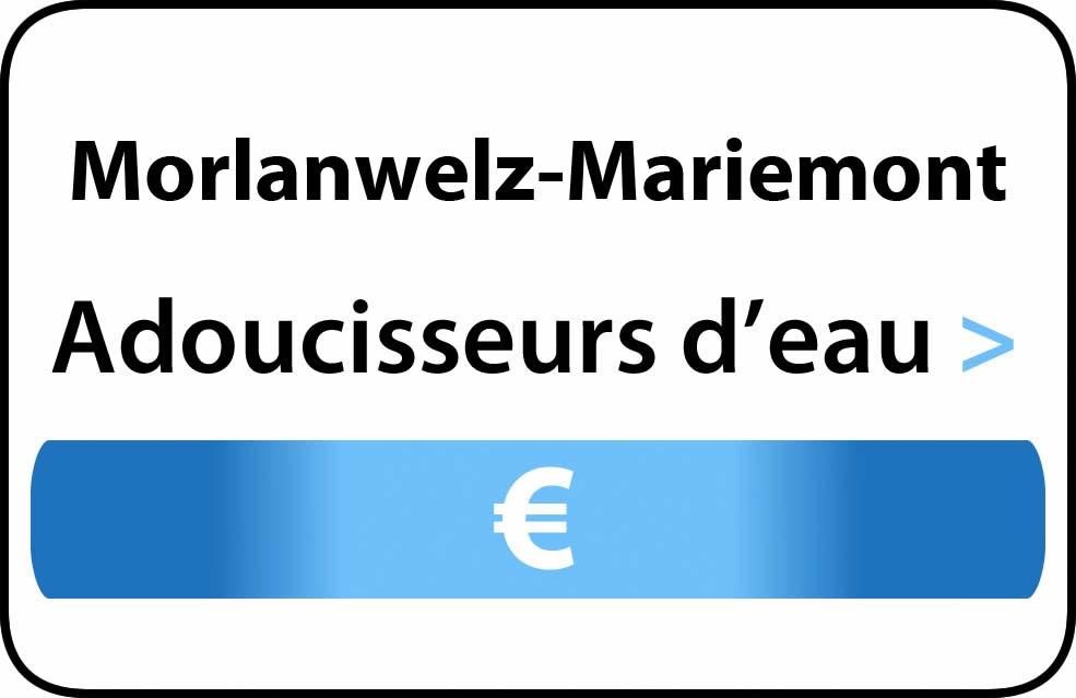 adoucisseur d'eau Morlanwelz-Mariemont