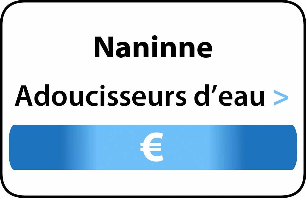 adoucisseur d'eau Naninne