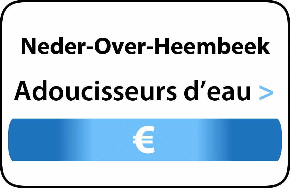 adoucisseur d'eau Neder-Over-Heembeek