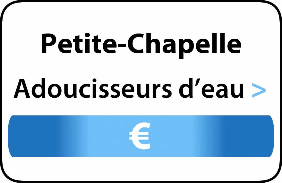 adoucisseur d'eau Petite-Chapelle