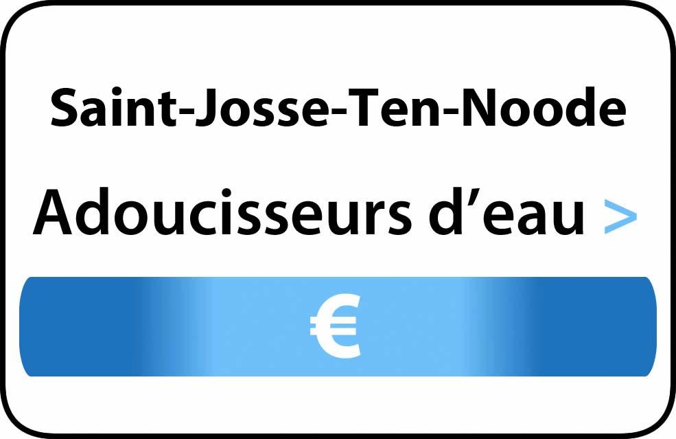 adoucisseur d'eau Saint-Josse-Ten-Noode