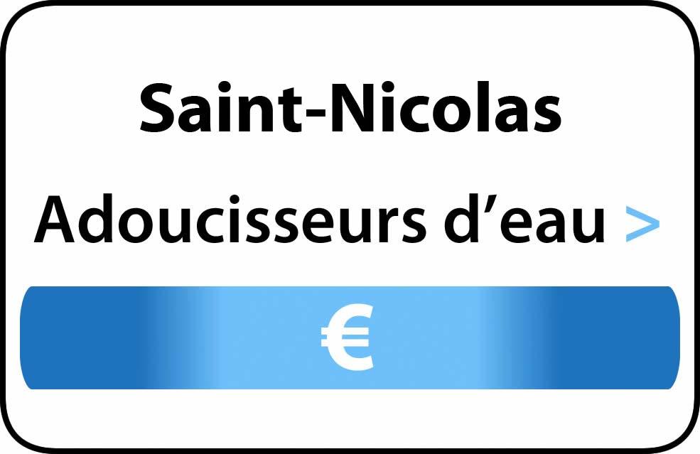 adoucisseur d'eau Saint-Nicolas