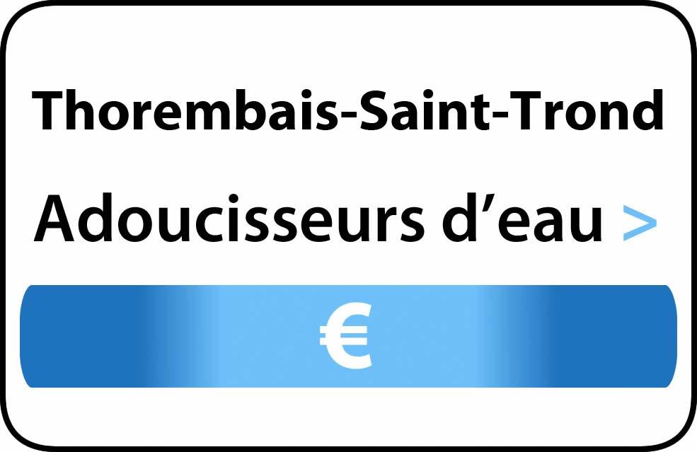 adoucisseur d'eau Thorembais-Saint-Trond