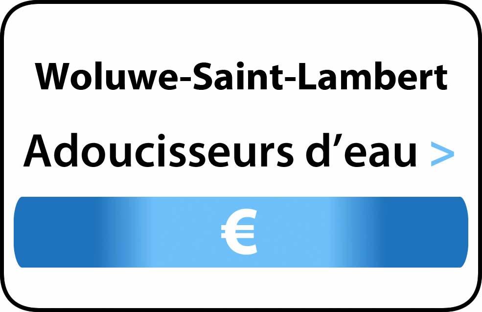 adoucisseur d'eau Woluwe-Saint-Lambert